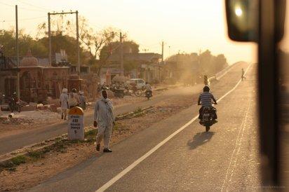 Auf dem Weg von Barathpur nach Jaipur