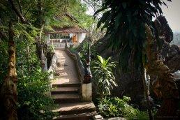Auf dem Tempelberg Phou Si in Luang Prabang