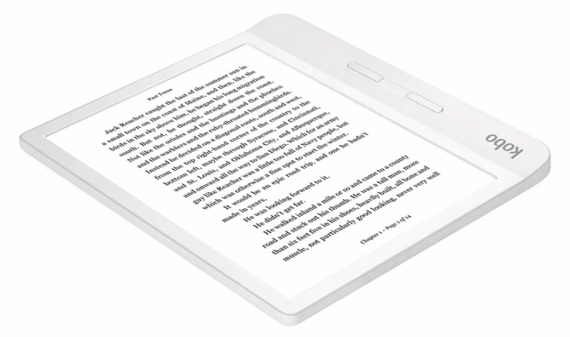 Competitively priced waterproof ereader Kobo Libra H20
