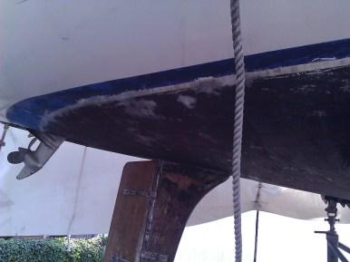 ...wurde schnell klar, dass das Unterwasserschiff...