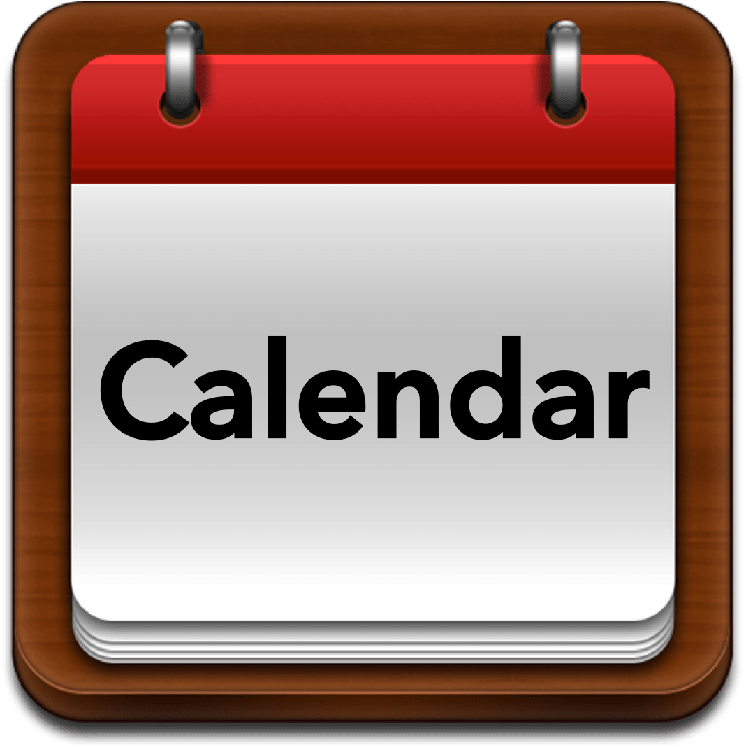 Blank Calendar Icon Png : Calendar knox little athletics centre inc