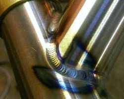 Klacko TIG weld stainless steel tube