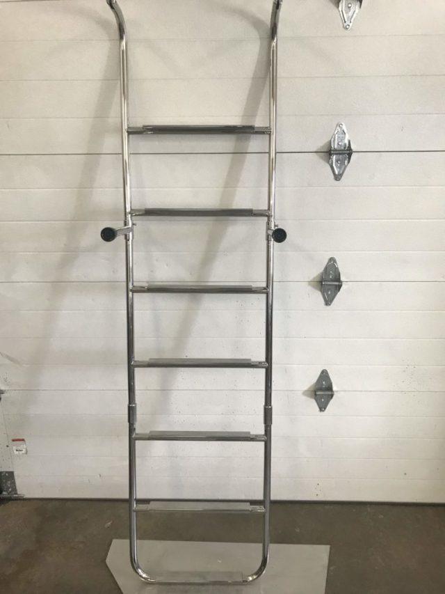 triple ladder folding