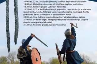 Klaipėdos miesto gimtadienis: Kuršiai sugrįžta