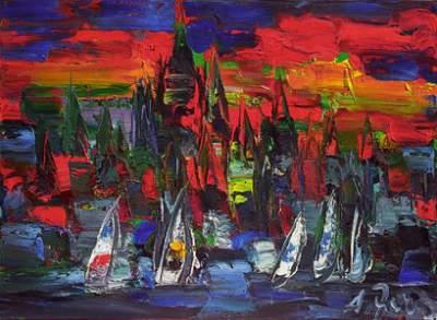 """Algimanto Jusionio tapybos paroda """"Sugrįžimai"""""""