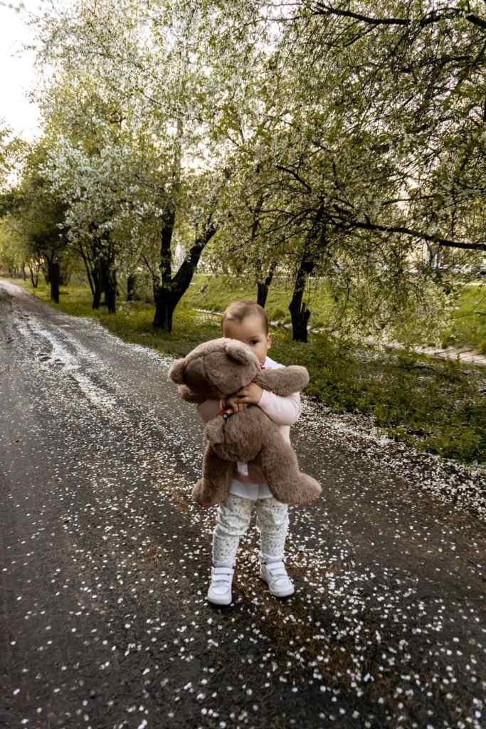 sesja dziecięca wiosna