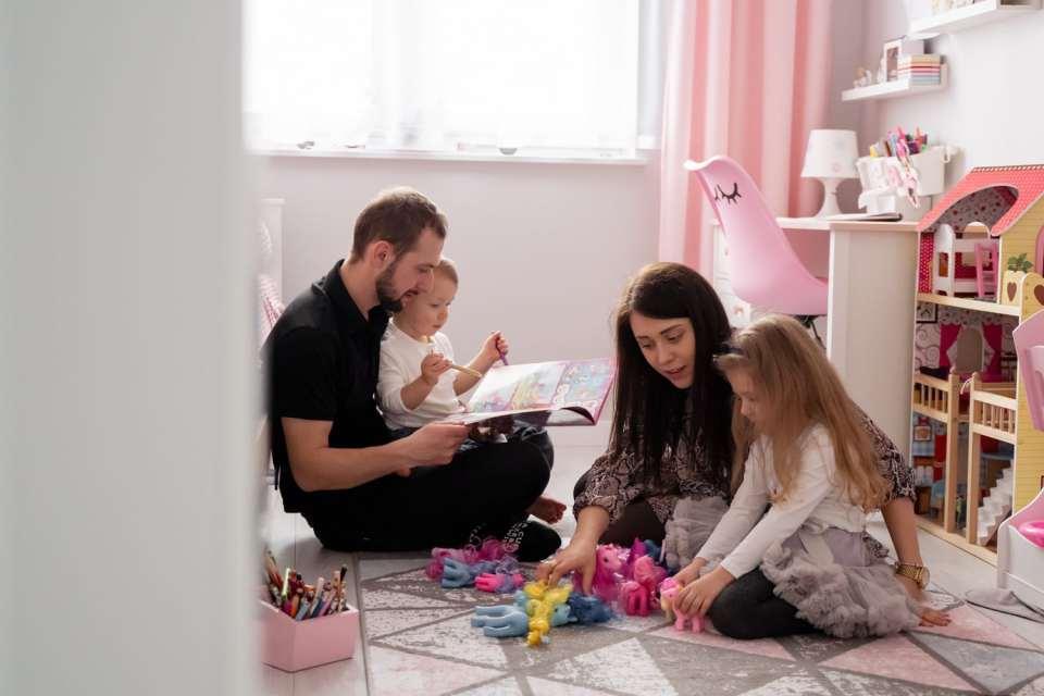 sesja domowa lifestyle rodzinna