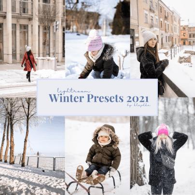 winter presets 2021 mobile