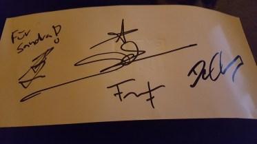 Die Autogramme