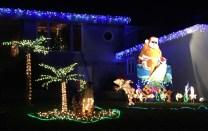 My favorite: Surfin' Santa