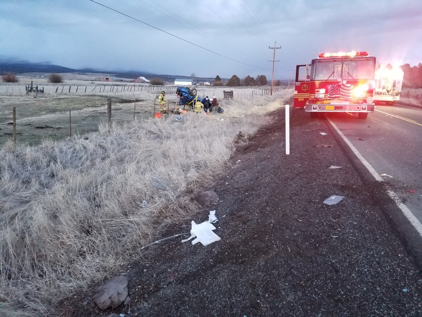 Washington Man Killed in Car Crash near Bly, Oregon - Klamath Alerts