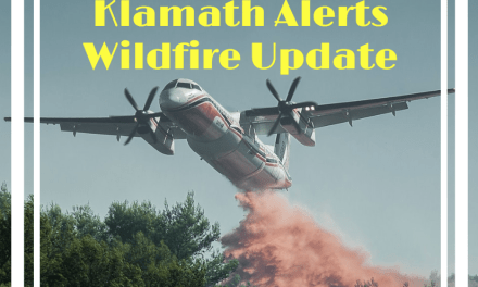 Klamathon Fire begins to effect Klamath County. Sheriff monitoring fire spread