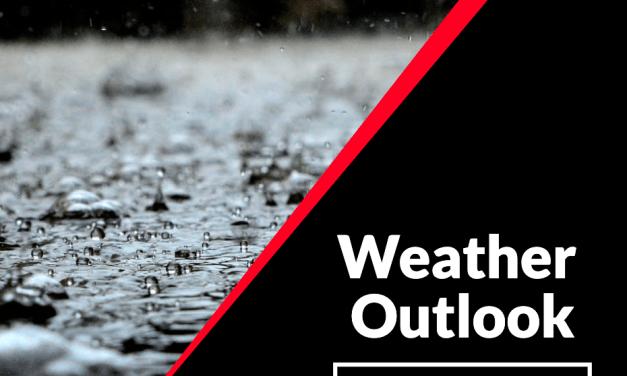 Weather Outlook: Gusty Winds Expected Sunday. Periods Of Rain Next Week