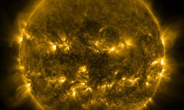 NASA Shares 2014 Image Of Pumpkin Sun