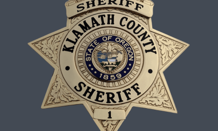 Klamath County Sheriff's Office would like to thank the great people of Klamath County