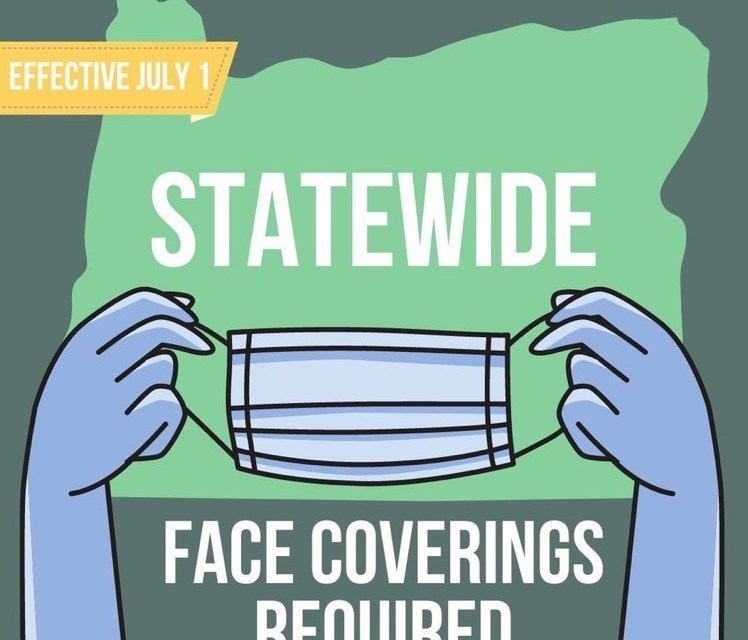 Governor Kate Brown Extends Face Coverings Requirement Statewide