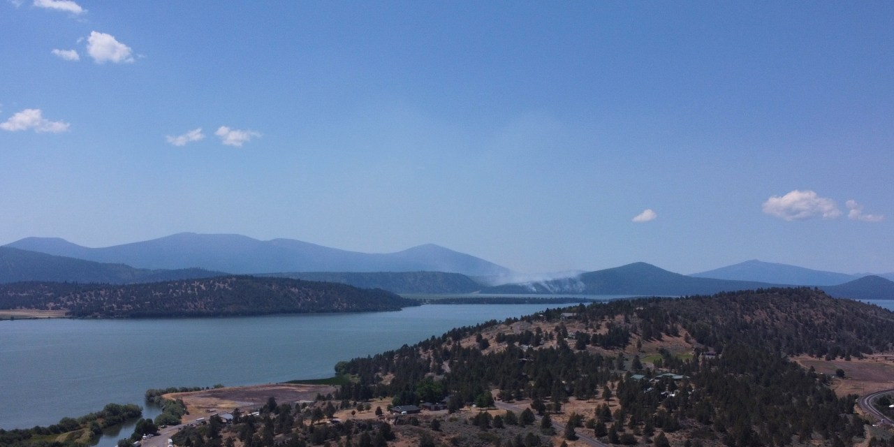 Update: Spence Mountain Fire at 70% containment and 78 acres