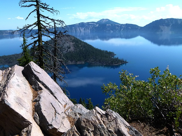 Visitors Illegally Enter the Caldera at Crater Lake National Park