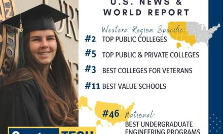 Best College Rankings from U.S. News & World Report List Oregon Tech as a Best College in the West and Best Engineering Program