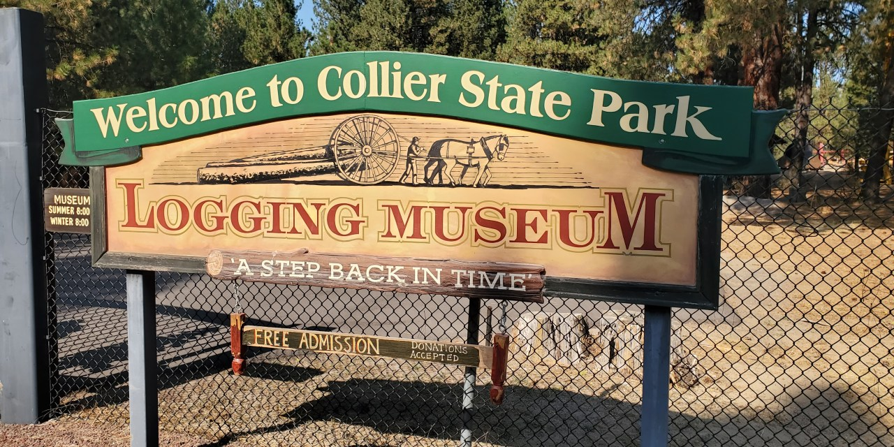 LOGGING MUSEUM AT COLLIER MEMORIAL STATE PARK REOPENS WITH MINOR FIRE DAMAGE