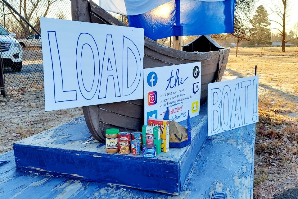 Mazama challenges community to 'Load the Boat' for food bank