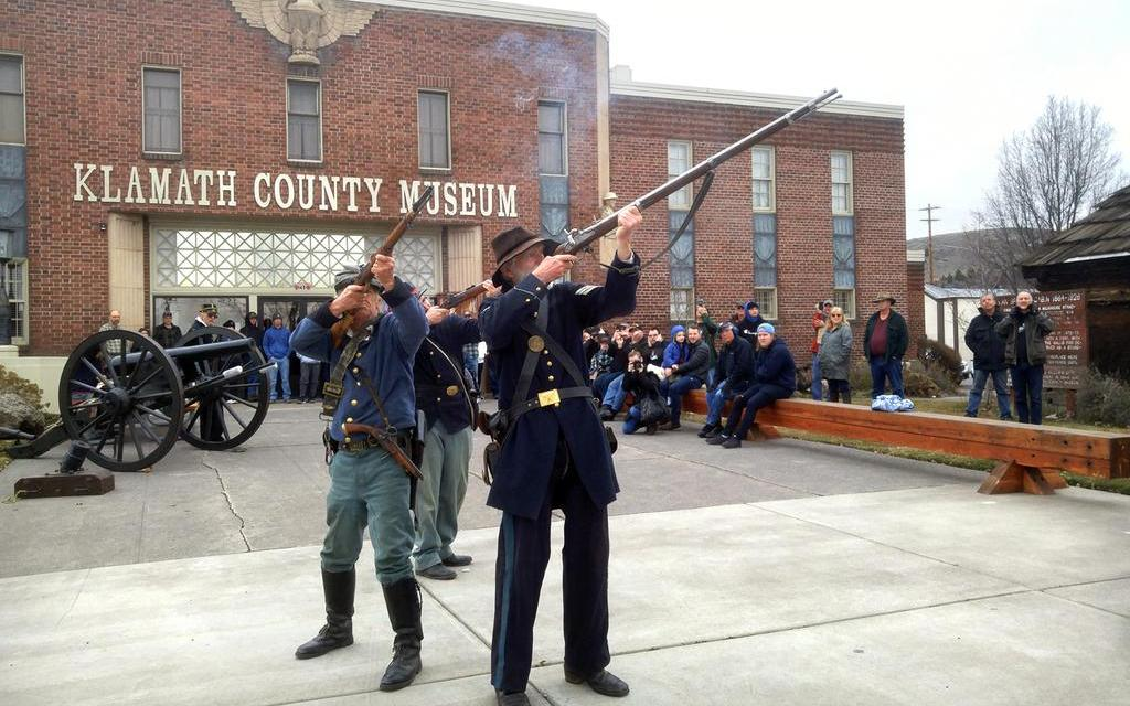 Living history presentations will be offered Saturday, April 10, during 1800s Days at the Klamath County Museum