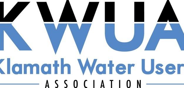 KLAMATH WATER USERS ASSOCIATION APPLAUDS USDA'S ANNOUNCED FUNDING RELIEF