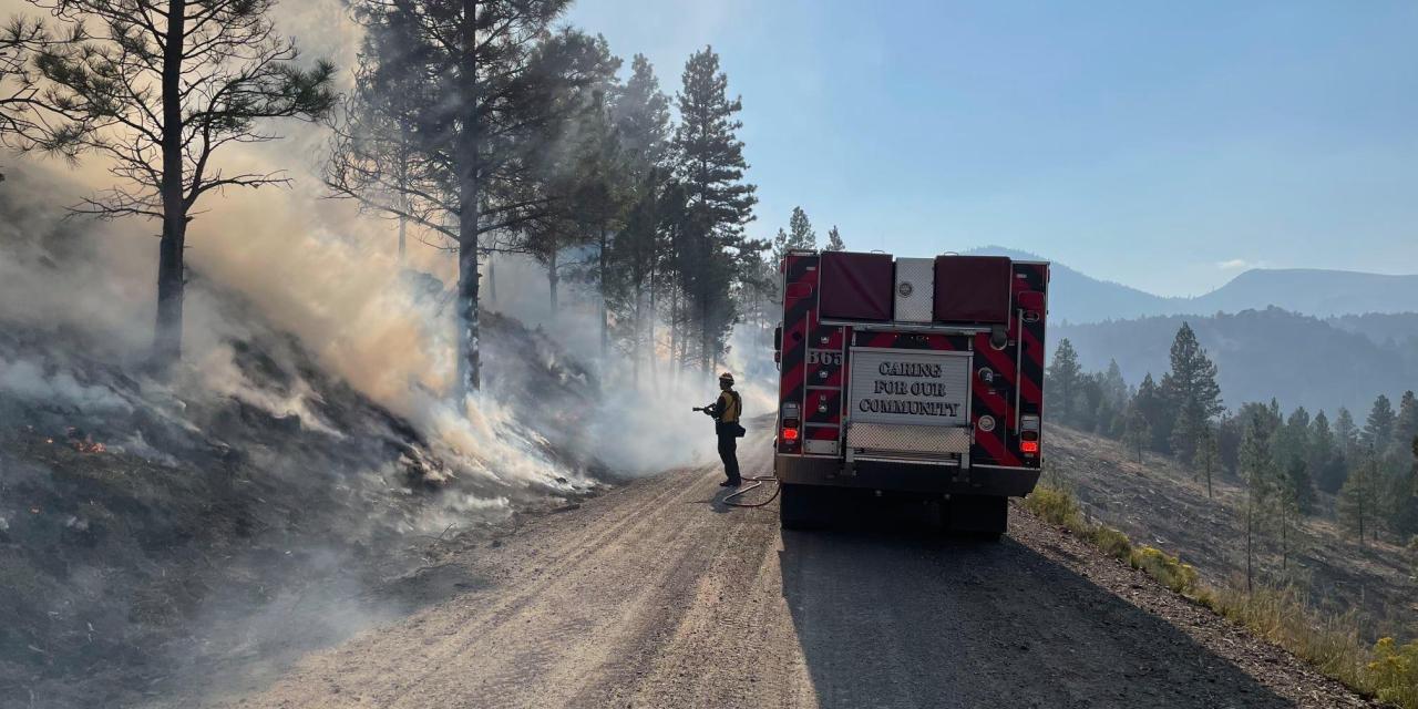 Cougar Peak Fire Update September 13, 2021 – Morning