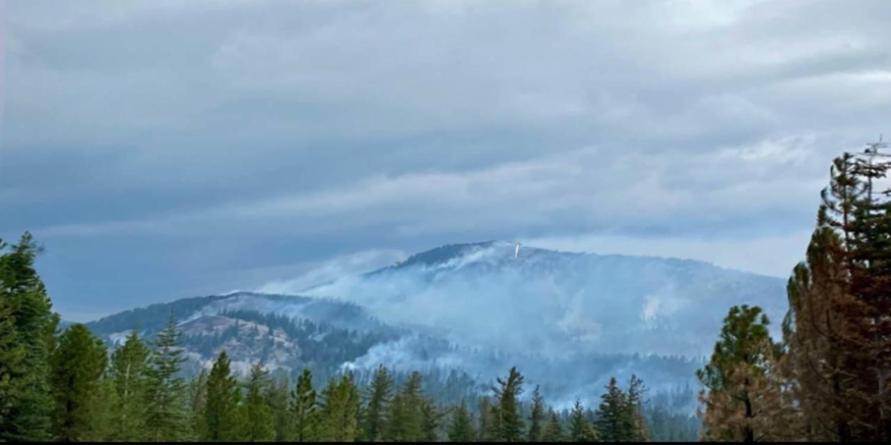 COUGAR PEAK FIRE UPDATE – September 23, 2021