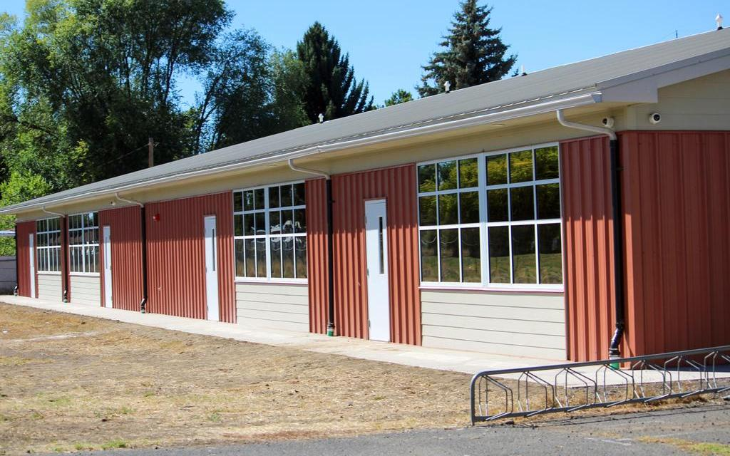 Stearns Elementary kicks off year with new classroom building