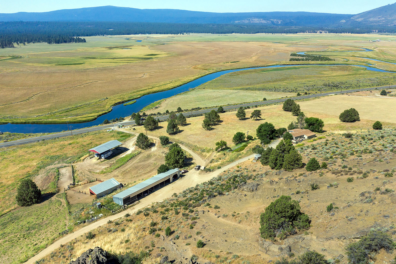 Pasture Ranch In Sprague River Klamath Farm And Ranch