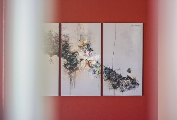 """""""As Above So Below"""" Triptych Canvas"""