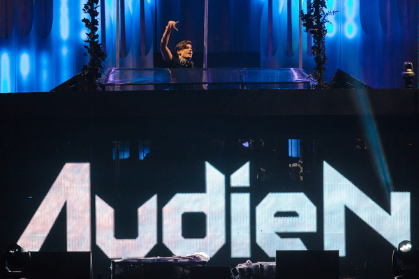Audien Electric Daisy Carnival Stage Projection