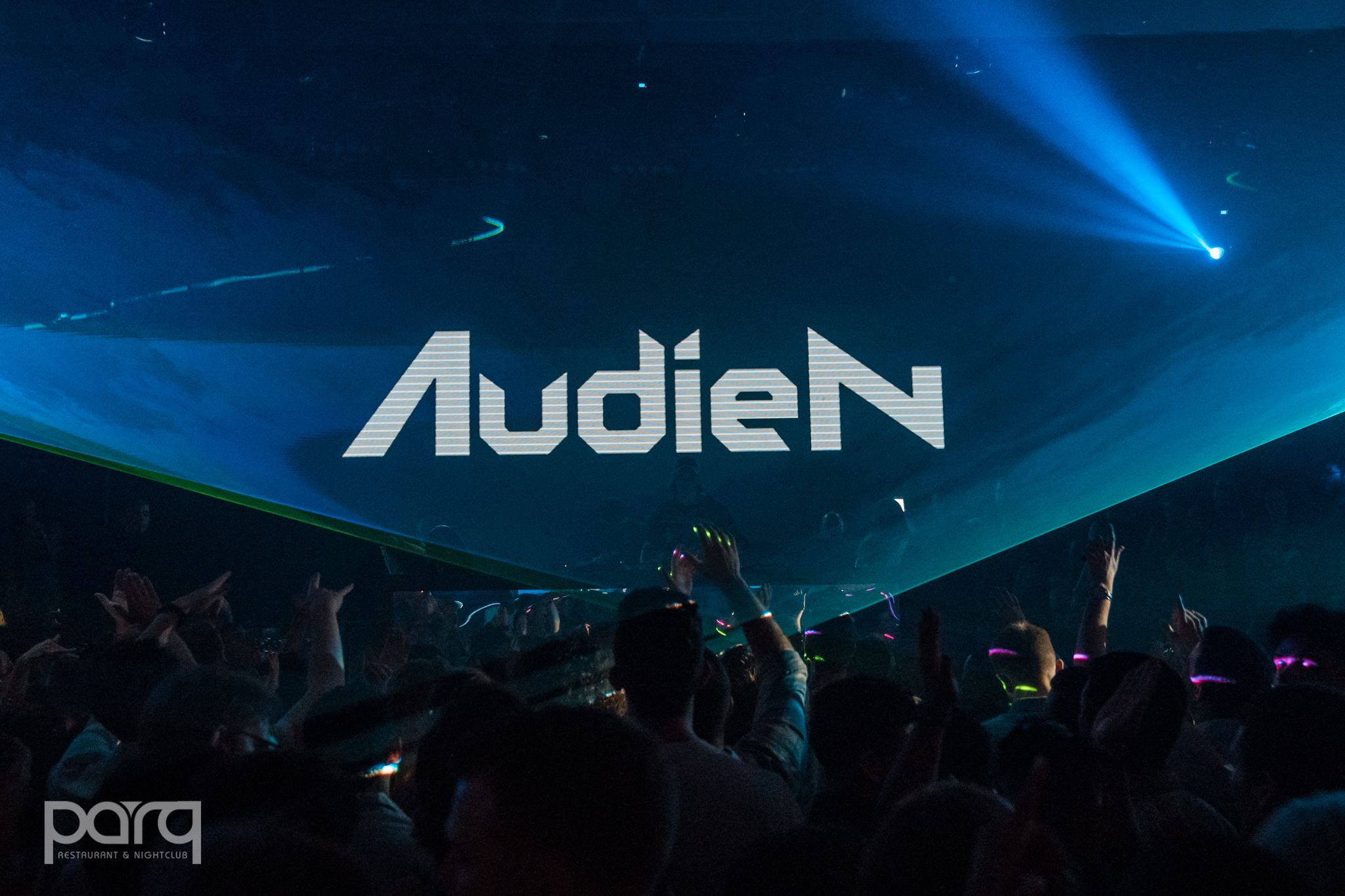 Audien Live Event Stage Projection
