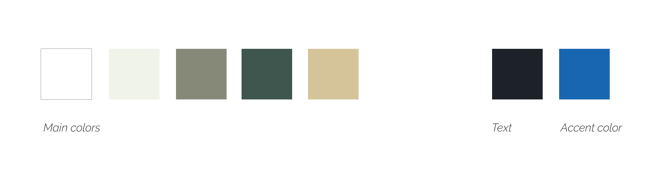 colosseum spa branding color scheme
