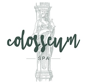 colosseum luxury spa logo design