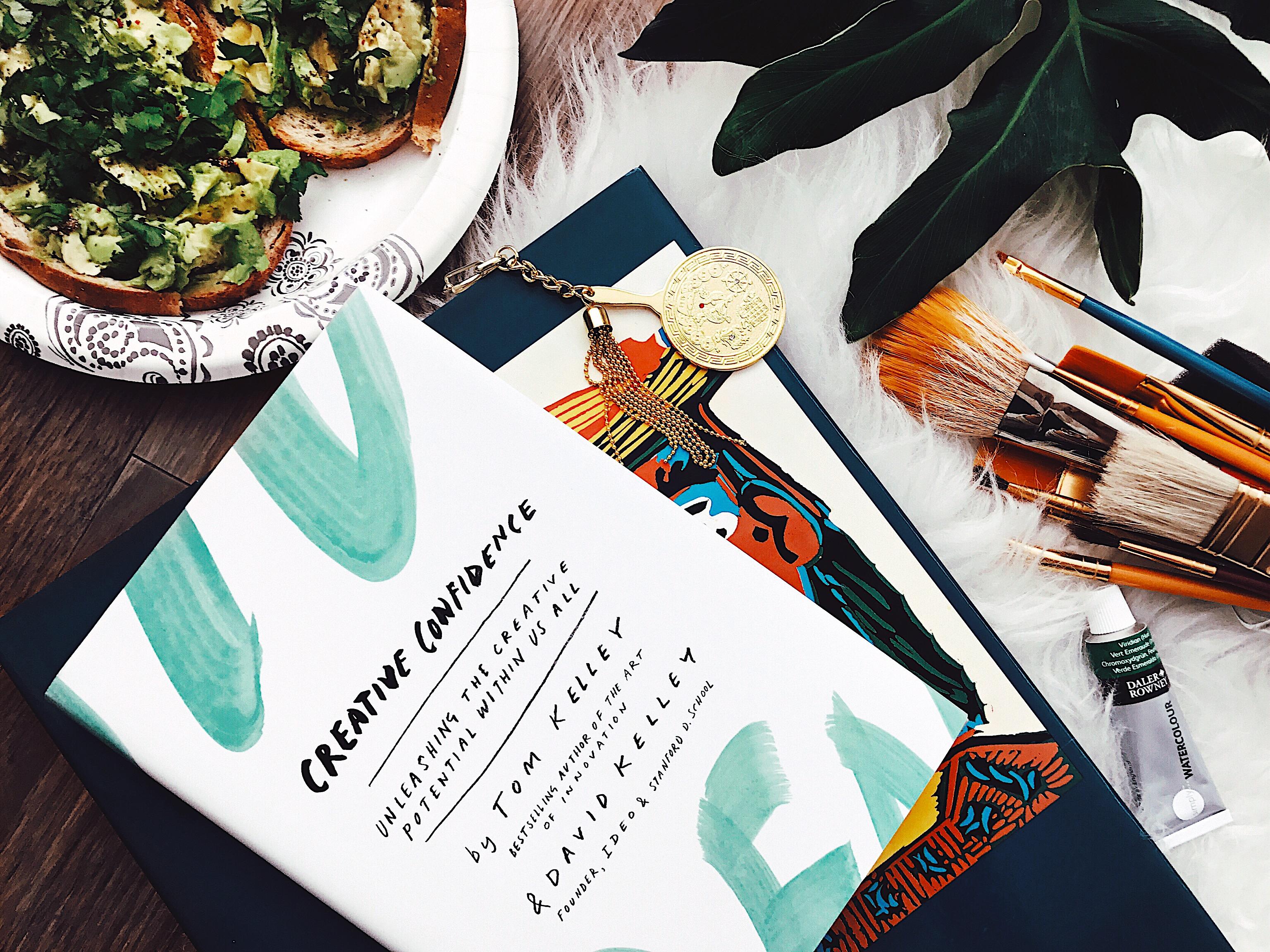 Avocado Toast Creative Confidence and Art Books