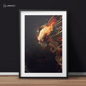 Deus Ex Machina III art print by Klangwelt