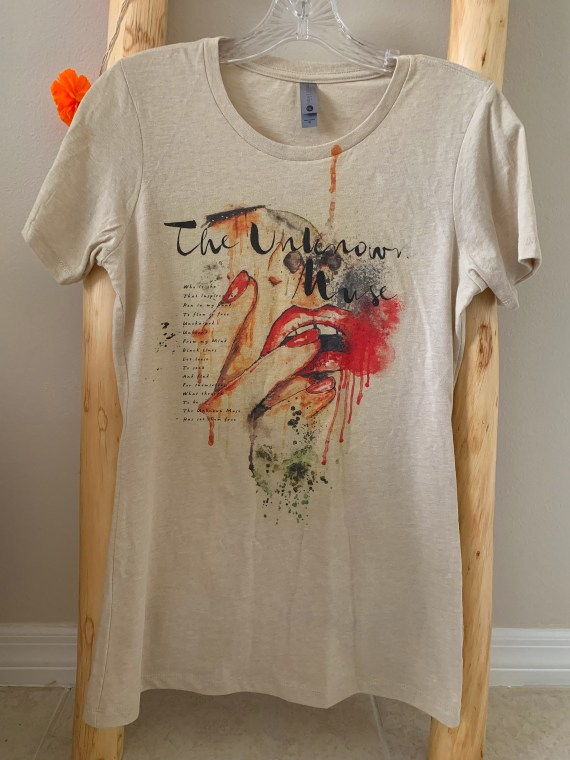 The Unknown Muse (I) Women's Graphic T-shirt