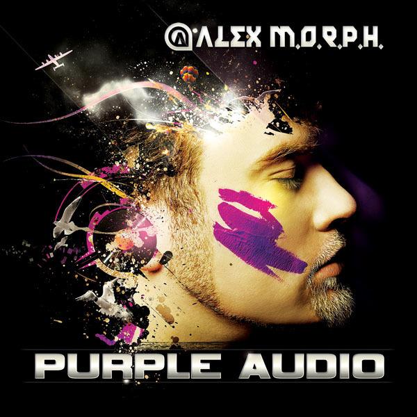 Alex M.O.R.P.H. - Purple Audio Album Cover Artwork