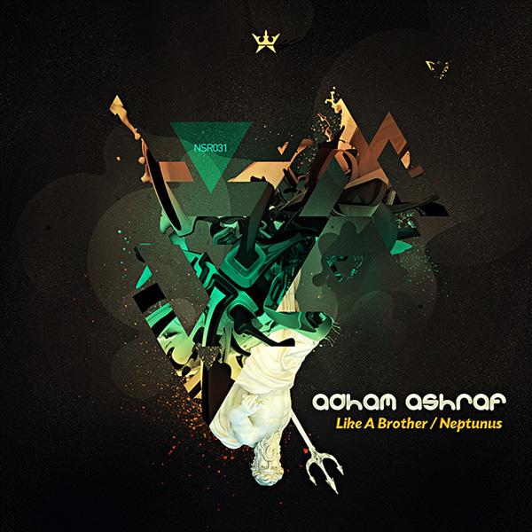 Adham Ashraf Neptunus EP album art
