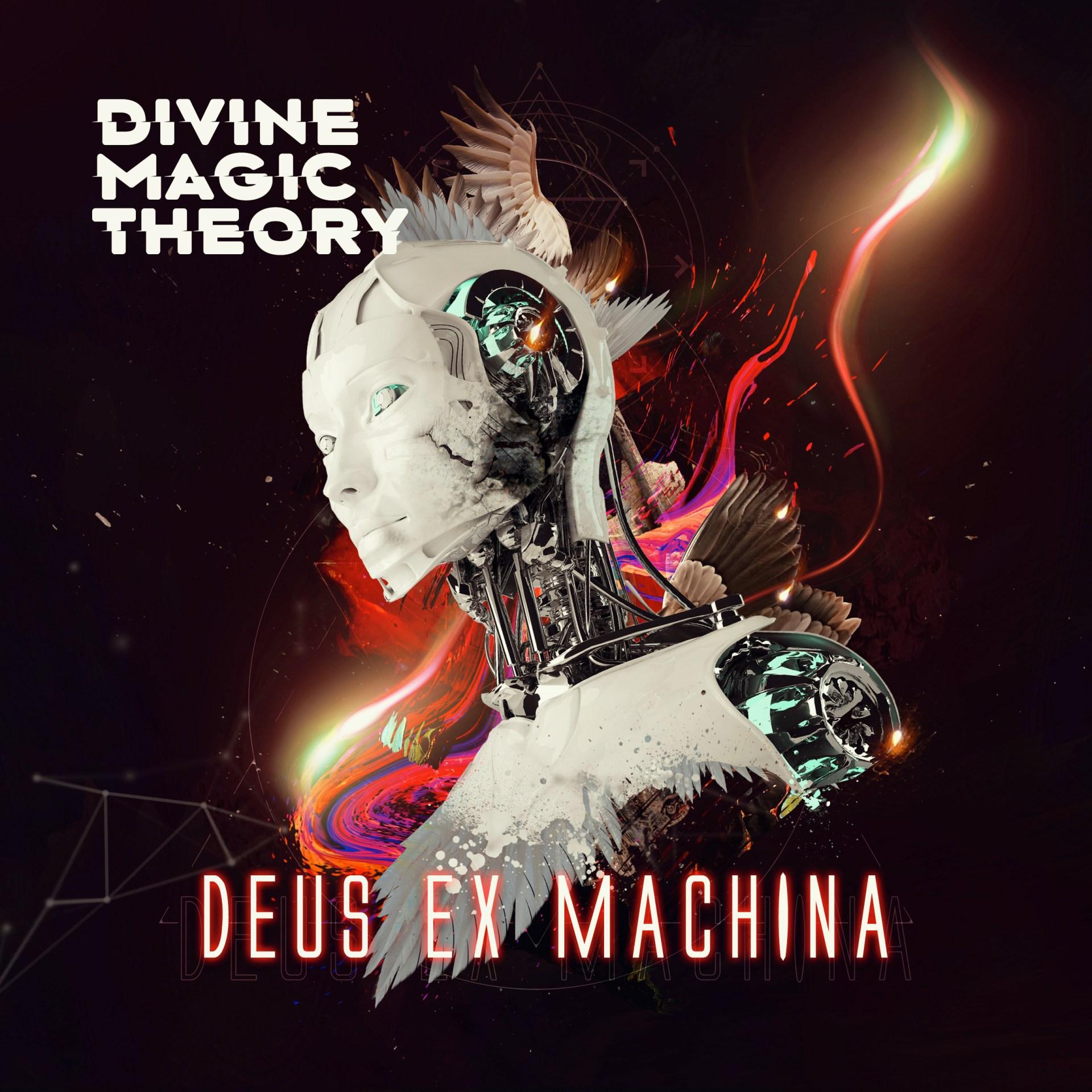 Divine Magic Theory Deus Ex Machina Album Art Cover