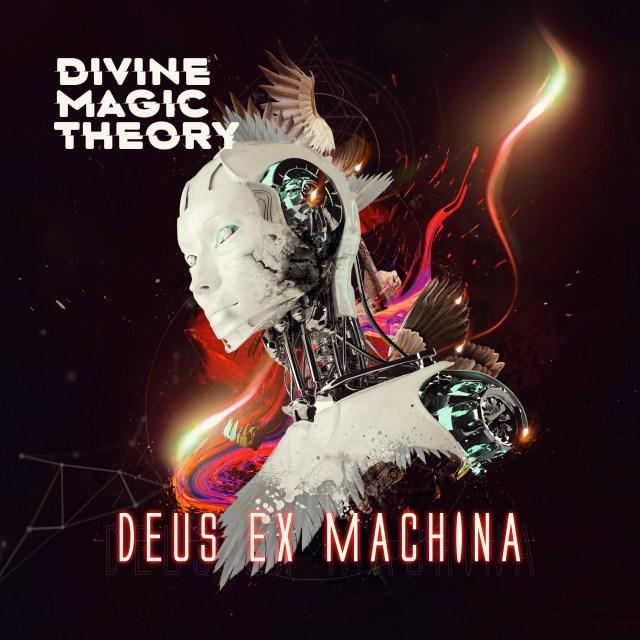 Divine Magic Theory Deus Ex Machina Album Artwork Design