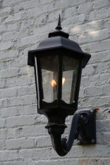 Gas Lamp at Carriage House
