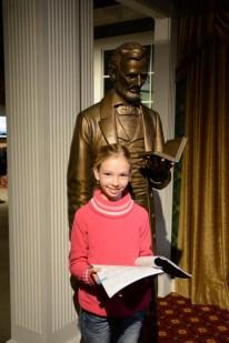 Amelie und ihr favorite president
