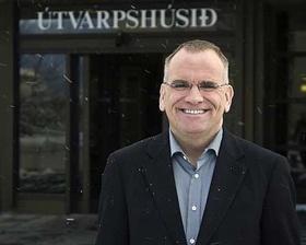 Páll Magnússon útvarpsstjóri.