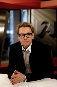 Freyr Einarsson sjónvarpsstjóri Stöðvar 2.