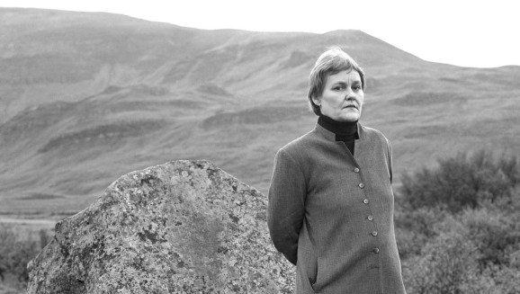 Leikstýran og handritshöfundurinn Guðný Halldórsdóttir, eða Duna eins og hún er gjarnan kölluð.