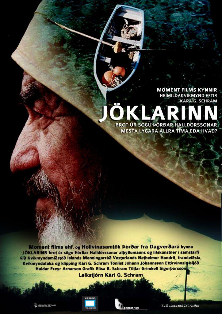Plakat kvikmyndarinnar Jöklarinn.
