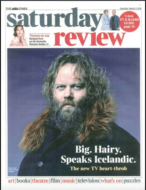 Ófærð-Ólafur Darri-The Times Saturday Review